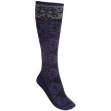 Goodhew Tapestry Socks - Over-the-Calf (For Women) in Concorde - Closeouts