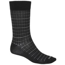 Goodhew Tattersall Socks - Crew (For Men) in Black - Closeouts