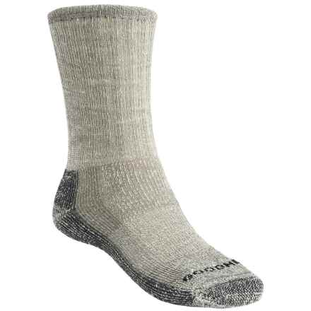 Goodhew Trekker Socks - Merino Wool, Crew (For Men and Women) in Charcoal - Closeouts