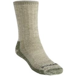 Goodhew Trekker Socks - Merino Wool, Crew (For Men and Women) in Loden