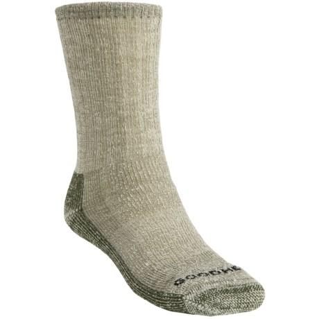 Goodhew Trekker Socks - Merino Wool, Crew (For Men and Women) in Loden