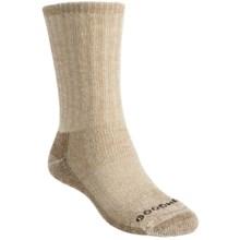 Goodhew Trekker Socks - Merino Wool, Crew (For Men and Women) in Taupe - Closeouts
