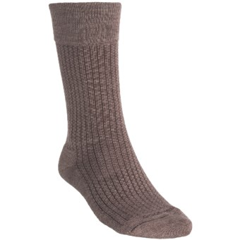 Goodhew Windsor Classic Socks - Merino Wool (For Men) in Bark
