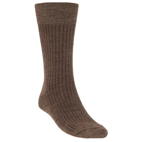 Goodhew Windsor Classic Socks - Merino Wool (For Men) in Charcoal