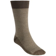 Goodhew Ziggy Socks - Merino Wool, Crew (For Men) in Brown - Closeouts