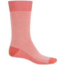 Goodhew Ziggy Socks - Merino Wool, Crew (For Men) in Guava - Closeouts