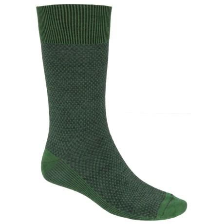 Goodhew Ziggy Socks - Merino Wool, Crew (For Men) in Meadow