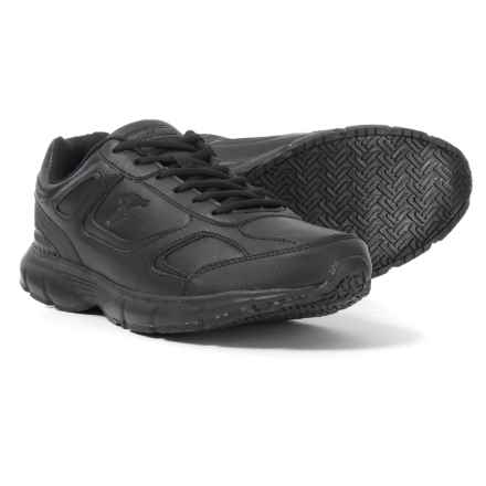Goodyear Stride Non-Slip Work Shoes (For Men) in Black - Closeouts