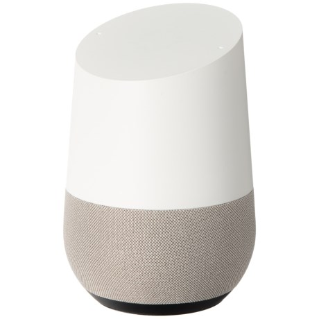 Google Home Smart Voice-Activated Speaker in White