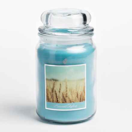 Goose Creek Happy at Home Scented Candle - Double Wick, 20 oz. in Harvest Skyline - Closeouts