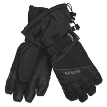 Gordini Aquabloc® Down Gauntlet Gloves - Waterproof, 600 Fill Power (For Women) in Black - Closeouts