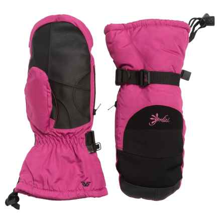 Gordini Aquabloc Lily Mittens - Waterproof, Insulated (For Women) in Deep Pink/Black - Closeouts