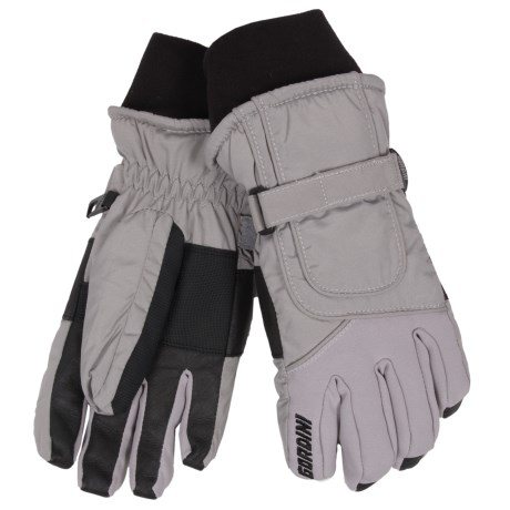 Gordini Aquabloc® VII Gloves - Waterproof, Insulated (For Women) in Clay Grey