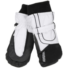 Gordini Aquabloc® VII Mittens - Waterproof, Insulated (For Women) in White/Black - Closeouts
