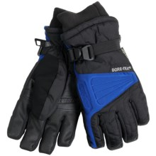 Gordini Challenge XII Gore-Tex® Gloves - Waterproof, Insulated (For Men) in Black/Deep Sea - Closeouts