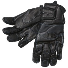 Gordini Cowboy Gloves - Pittards® Leather, Insulated (For Men) in Black - Closeouts