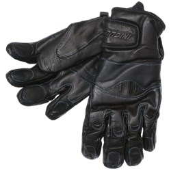 Gordini Cowboy Gloves - Pittards® Leather, Insulated (For Men) in Black