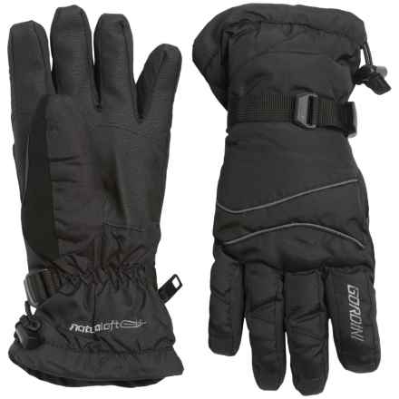 Gordini Down Gloves - Waterproof, 650 Fill Power (For Men) in Black - Closeouts