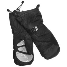 Gordini Down System Mittens - Waterproof, 600 Fill Power (For Women) in Black - Closeouts