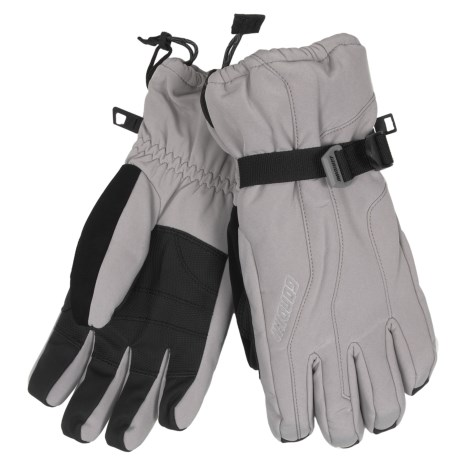 Gordini Fall Line II Gloves - Waterproof, Insulated (For Men) in Clay Grey