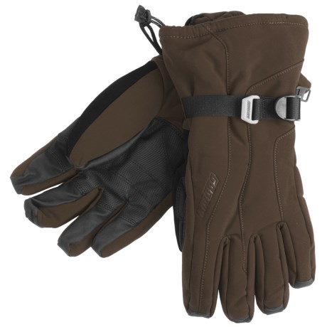 Gordini Fall Line II Gloves - Waterproof, Insulated (For Men) in Dark Chocolate