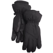 Gordini Floral Gloves - Waterproof, Insulated (For Women) in Black - Closeouts