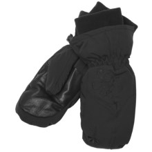 Gordini Floral PrimaLoft® Mittens - Waterproof, Insulated (For Women) in Black - Closeouts