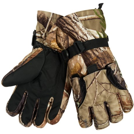 Gordini Gauntlet Heatrap® Hunt Gloves - Insulated (For Men) in Real Tree