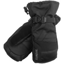 Gordini Gauntlet II Down Mittens - Waterproof, Insulated (For Women) in Black/Honeysuckle - Closeouts