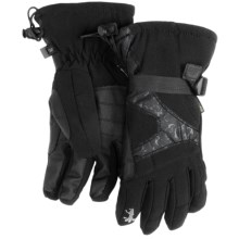 Gordini Gore-Tex® Down Gloves - Waterproof, 600 Fill Power (For Women) in Black - Closeouts