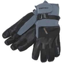 Gordini Gore-Tex® Storm Trooper Short Gloves - Waterproof, Insulated (For Men) in Dark Grey/Black - Closeouts