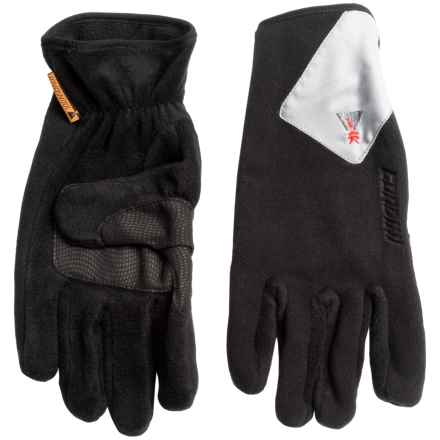 Gordini Lavawalk II Polartec® Wind Pro® Gloves - Lavawool® (For Men) in Black - Closeouts
