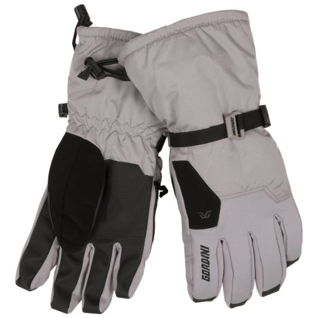 Gordini Stomp II Gloves - Waterproof, Insulated (For Men) in Clay Grey