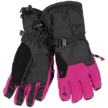 Gordini Stomp II Gloves - Waterproof, Insulated (For Women) in Black/Deep Pink - Closeouts