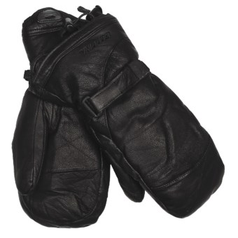 Gordini The Leather Goose II Mittens - Waterproof, 600 Fill Power (For Women) in Black