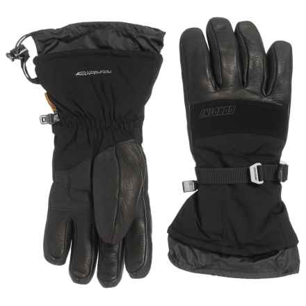 Gordini The Polar Gloves - Waterproof, Insulated, 600 Power Fill (For Men) in Black - Closeouts