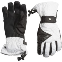 Gordini Venture Gloves - Waterproof, Insulated, Touchscreen Compatible (For Women) in White/Black - Closeouts