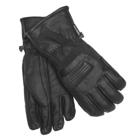 Gordini Vertex Gore-Tex® Gloves - Waterproof, Insulated (For Men) in Black