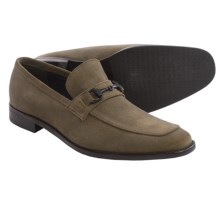 Gordon Rush Birch Loafers (For Men) in Khaki Suede - Closeouts