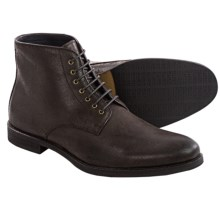 Gordon Rush Brian Boots - Leather, Lace-Ups (For Men) in Espresso Waxed Nubuck - Closeouts