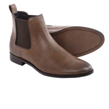 Gordon Rush Kane Chelsea Boots - Leather (For Men) in Dark Brown - Closeouts