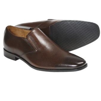 Gordon Rush Kendall Shoes - Leather, Slip-Ons (For Men) in Chocolate