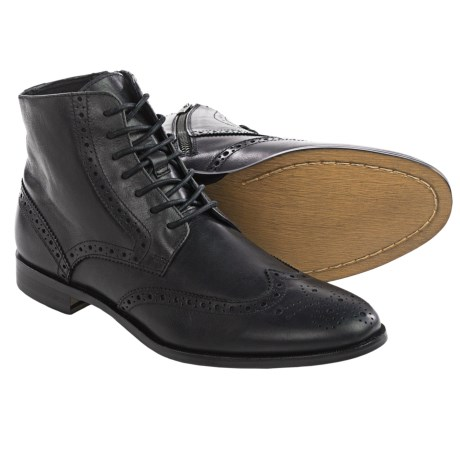 Gordon Rush Marcus Wingtip Leather Boots (For Men)