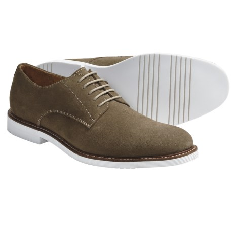 Gordon Rush Otis Suede Lace Up Shoes (For Men) in Stone