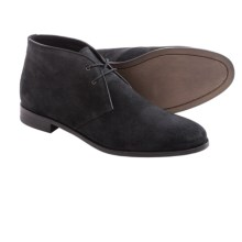 Gordon Rush Tinsman Chukka Boots - Suede (For Men) in Black Waxed Suede - Closeouts