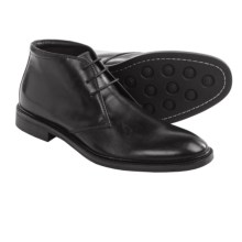 Gordon Rush Weaver Chukka Boots - Leather (For Men) in Black - Closeouts