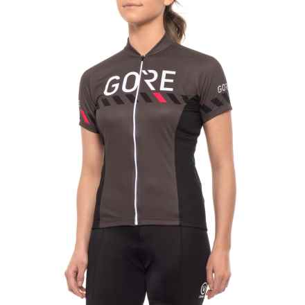 65a96dca8 Gore Bike Wear C3 Brand Cycling Jersey - Short Sleeve (For Women) in Raven  · Quick View