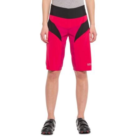 Gore Bike Wear C5 Trail Light Mountain Bike Shorts (For Women) in Jazzy Pink 183d0f083