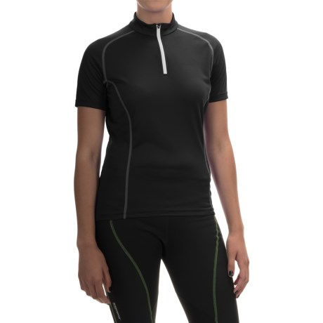 Gore Bike Wear Contest Cycling Jersey - Zip Neck, Short Sleeve (For Women)