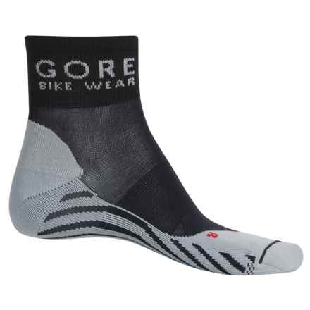 Gore Bike Wear Contest Cycling Socks - Ankle (For Men and Women) in Black/Grey - Closeouts